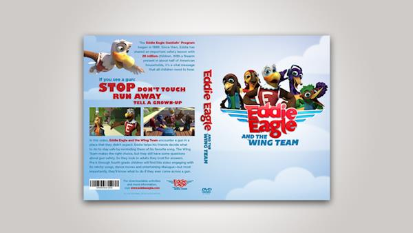 Eddie Eagle and the Wing Team Video on DVD
