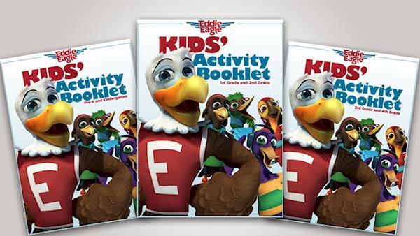 Eddie Eagle Kids' Activity Booklet