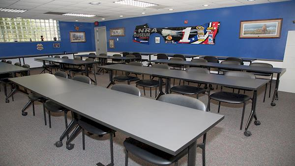 The Indoor Classroom at the NRA Range
