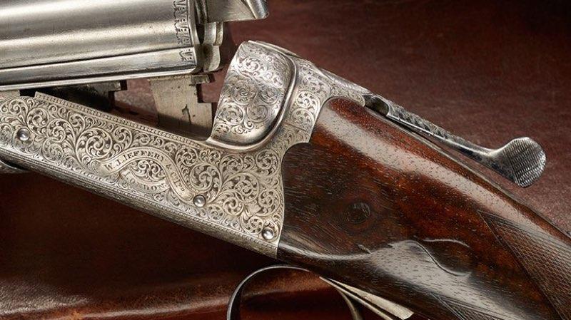 Antique British Shotgun