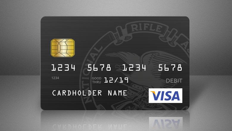 NRA Visa Credit Card