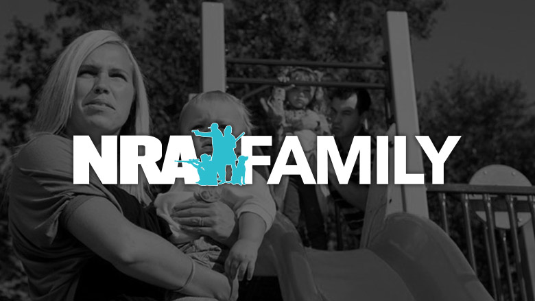 NRA Family Logo on a Dark Background