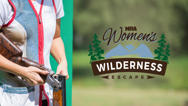 NRA Women's Wilderness Escape Logo