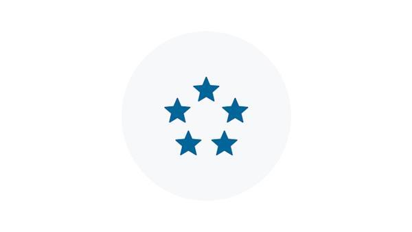 5-Star Blue Icon