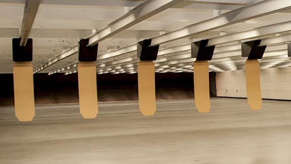 Target Retrieval System at an Indoor Gun Range