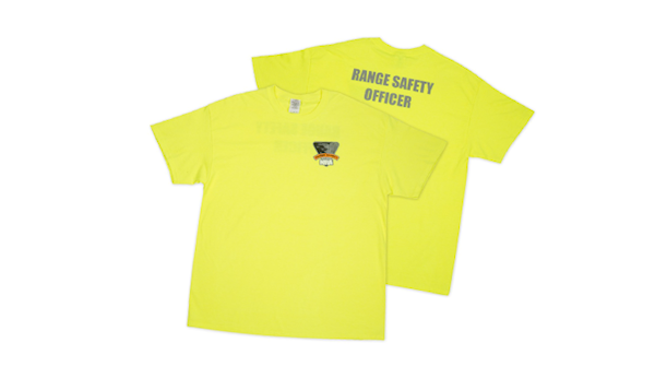 NRA Range Safety Officer High Visibility T-Shirt
