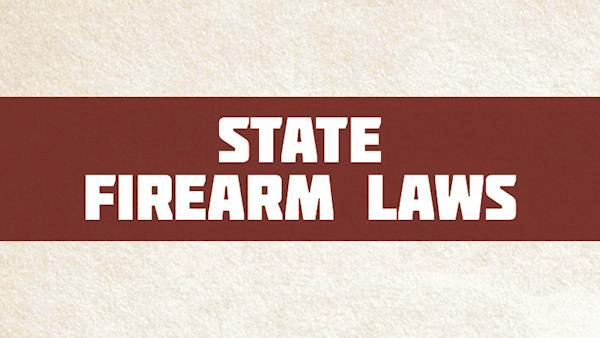 State Firearm Laws Graphic