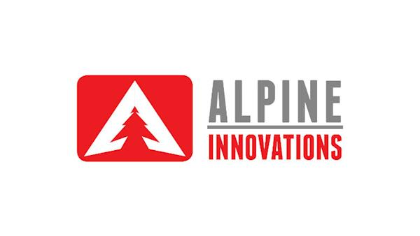 Alpine Innovations Logo on a White Background