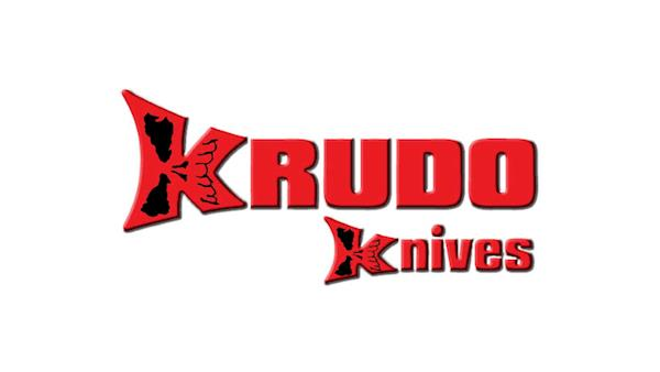 Full Color Krudo Knoives Logo on a White Background
