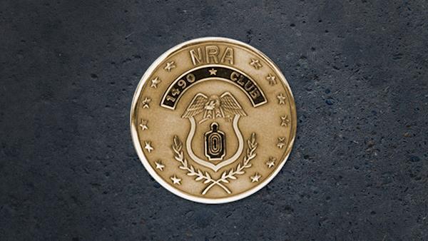 1490 Medallion on a Dark Background
