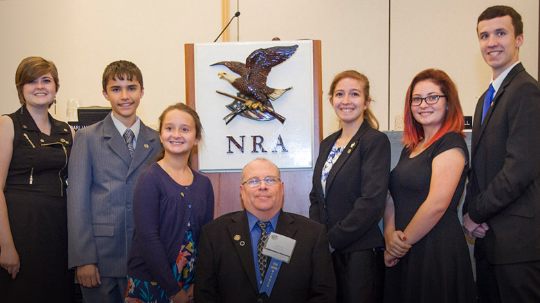Brownell NRA Award Presented to Young People