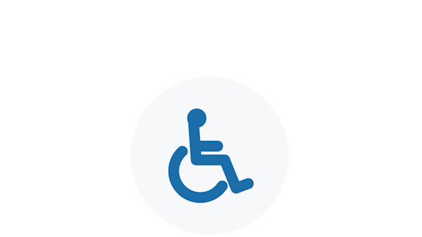 NRA Icon of a Wheelchair