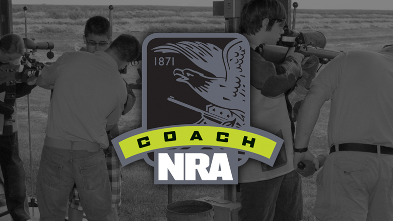 NAR Coach Logo on a Dark Background