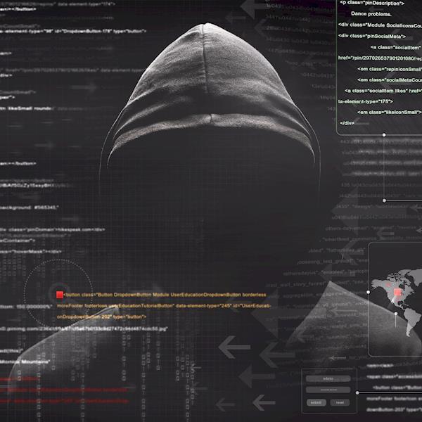 Faceless Cyber Stalker in a Black Hoodie