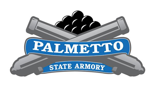 Palmetto State Armory Full Color Logo on a White Background