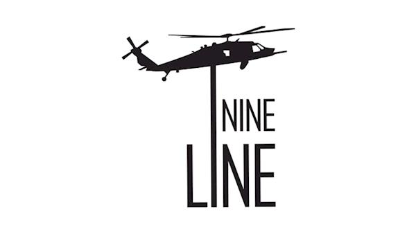 Nine Line Logo on a White Background
