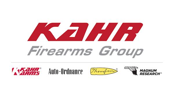 Kahr Firearms Group Full Color Logo on a White Background