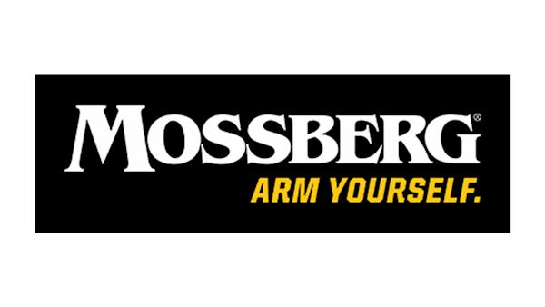 Mossberg - Arm Yourself Full Color Logo on a Black Background