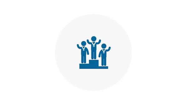 Blue Icon of Winners Platform