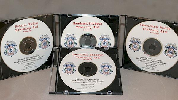Law Enforcement Instructor Manuals on Compact Disc