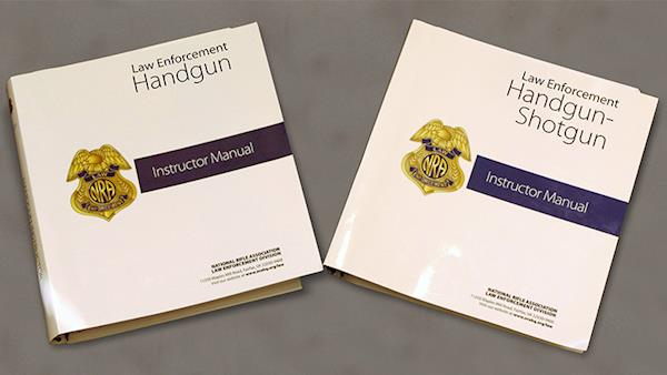 Law Enforcement NRA training instructors manuals