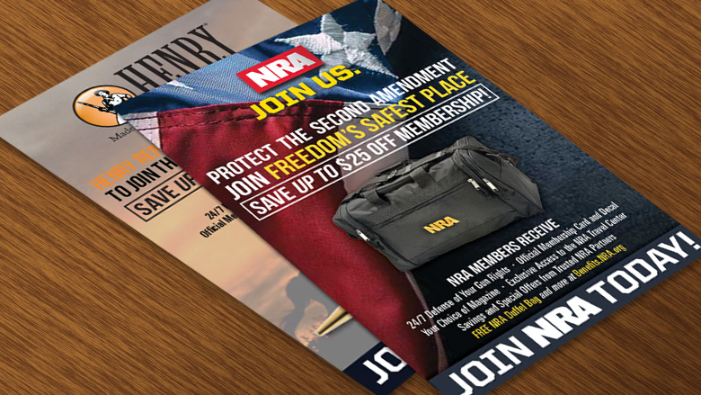 """Free """"Join the NRA"""" Insert Flyers for Retailers"""