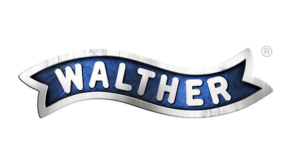 Walther Full Color Logo on a White Background
