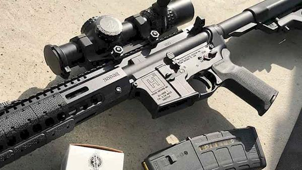Unloaded Sporting Rifle