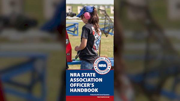 Cover of the NRA State Association Officer's Handbook
